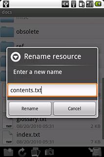 WebDAV Navigator for Android